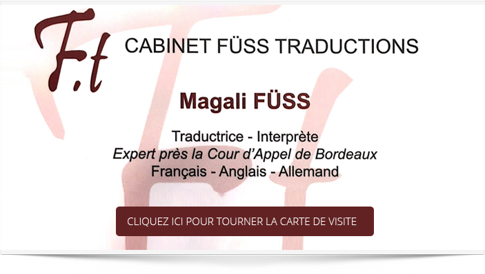 Cabinet Fuss Traductions